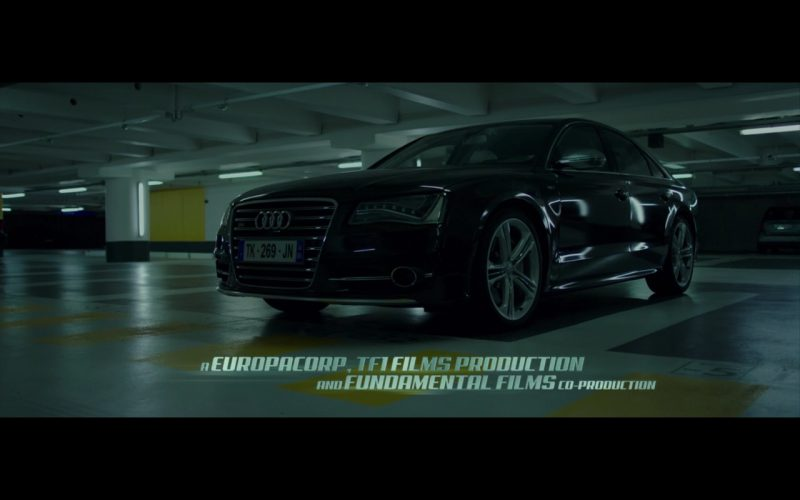 Black Audi S8 in The Transporter Refueled 2015 Movie (2)