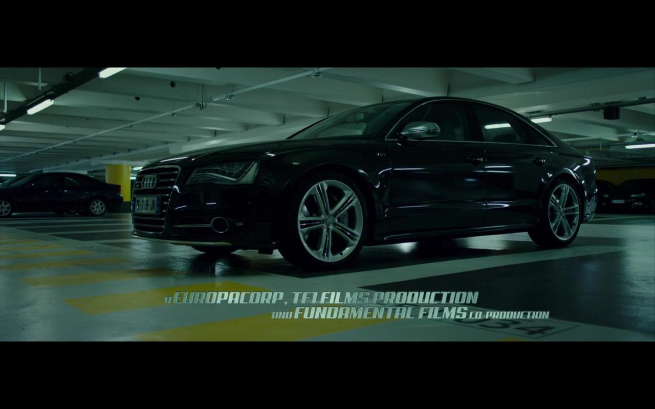 Black Audi S8 The Transporter Refueled 2015 Movie