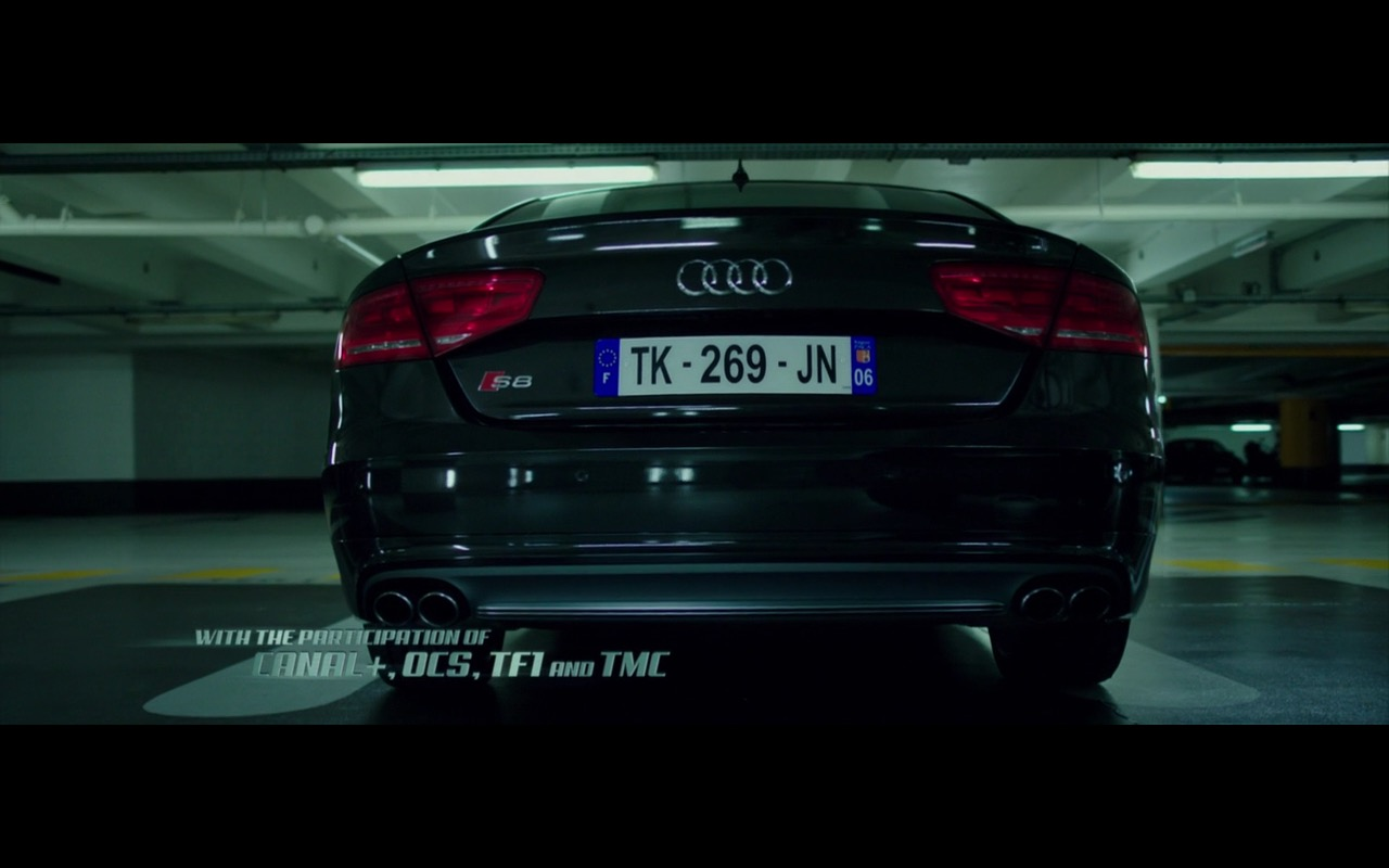 Black Audi S8 The Transporter Refueled 2015 Movie Scenes
