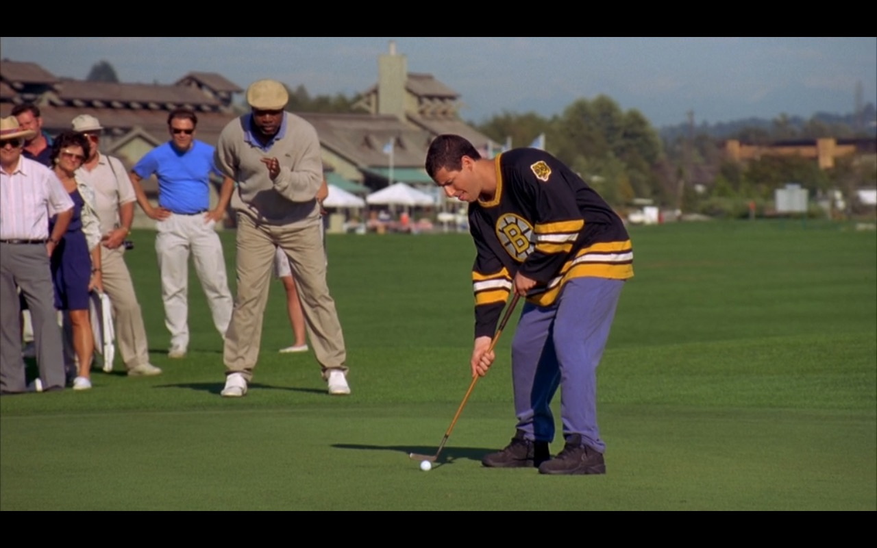Black Nike Sneakers For Men – Happy Gilmore (1996) Movie Product Placement