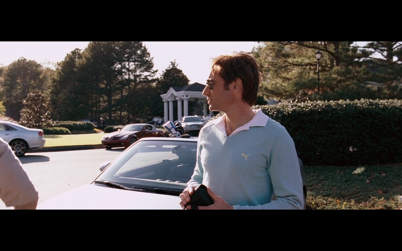 Blue Puma Sweater For Men and Ray-Ban Sunglasses – The Joneses (2009) Movie Product Placement