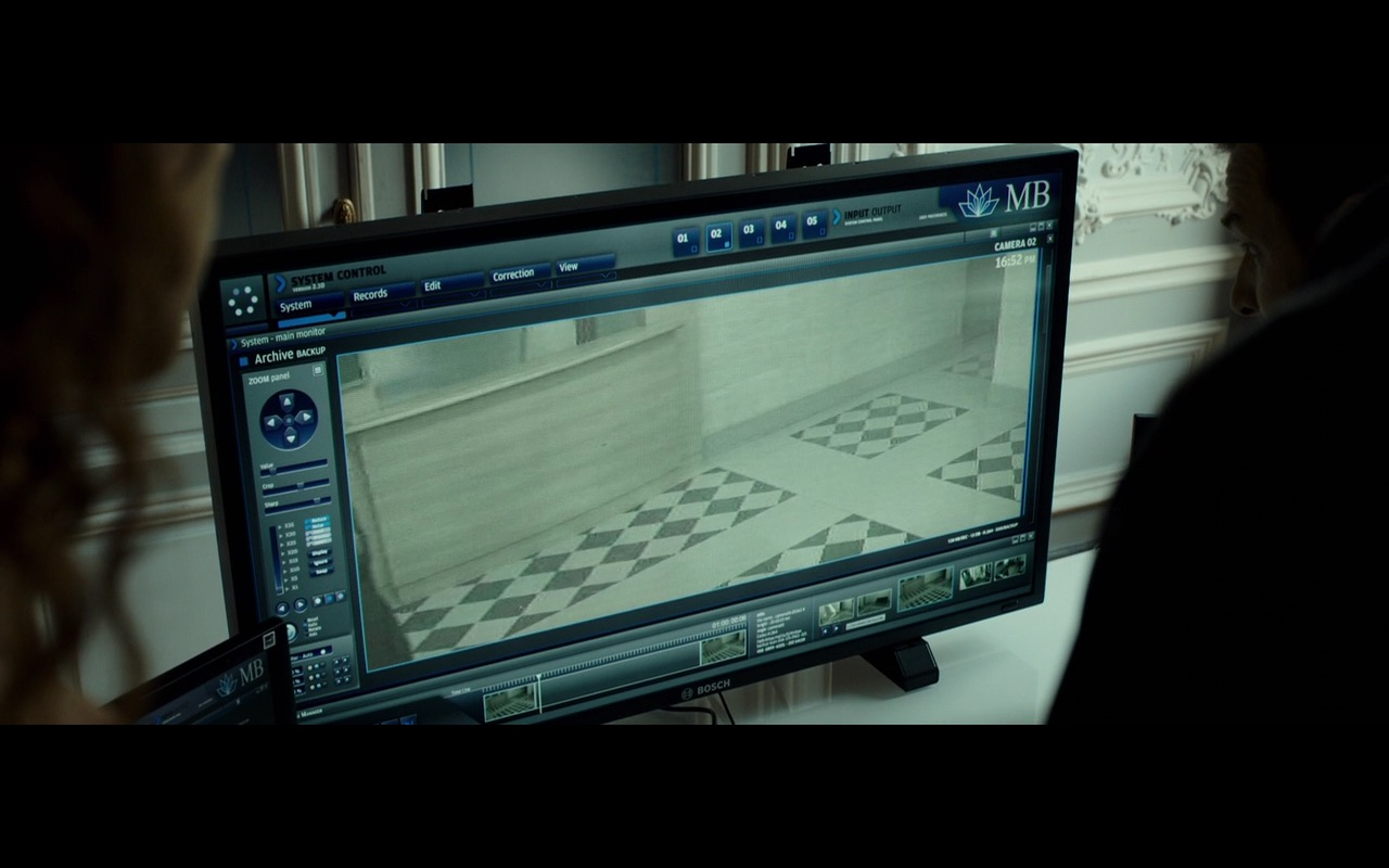 Bosch Monitors – The Transporter Refueled (2015) Movie Product Placement