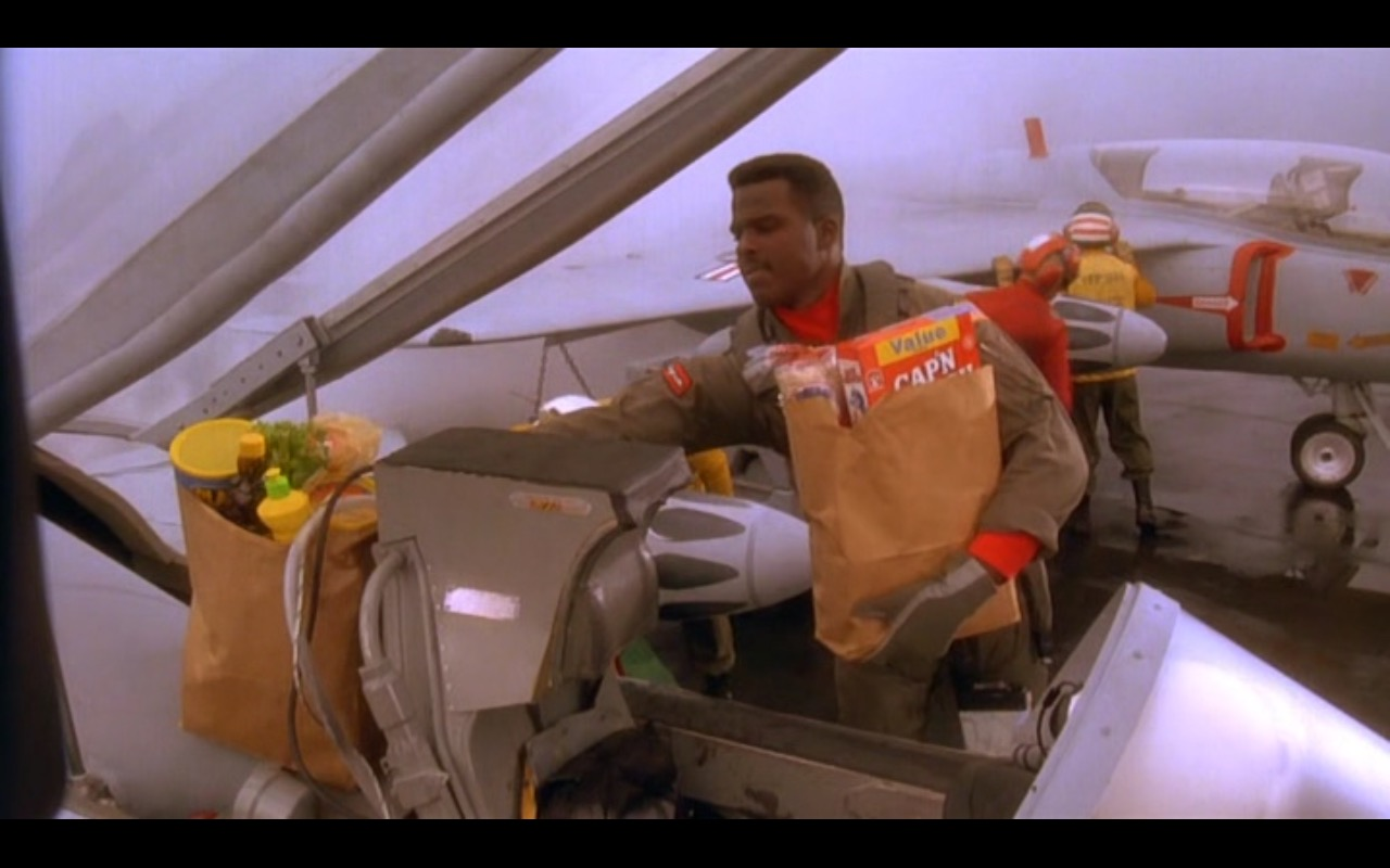 Cap'n Crunch - Hot Shots! (1991) Movie Product Placement