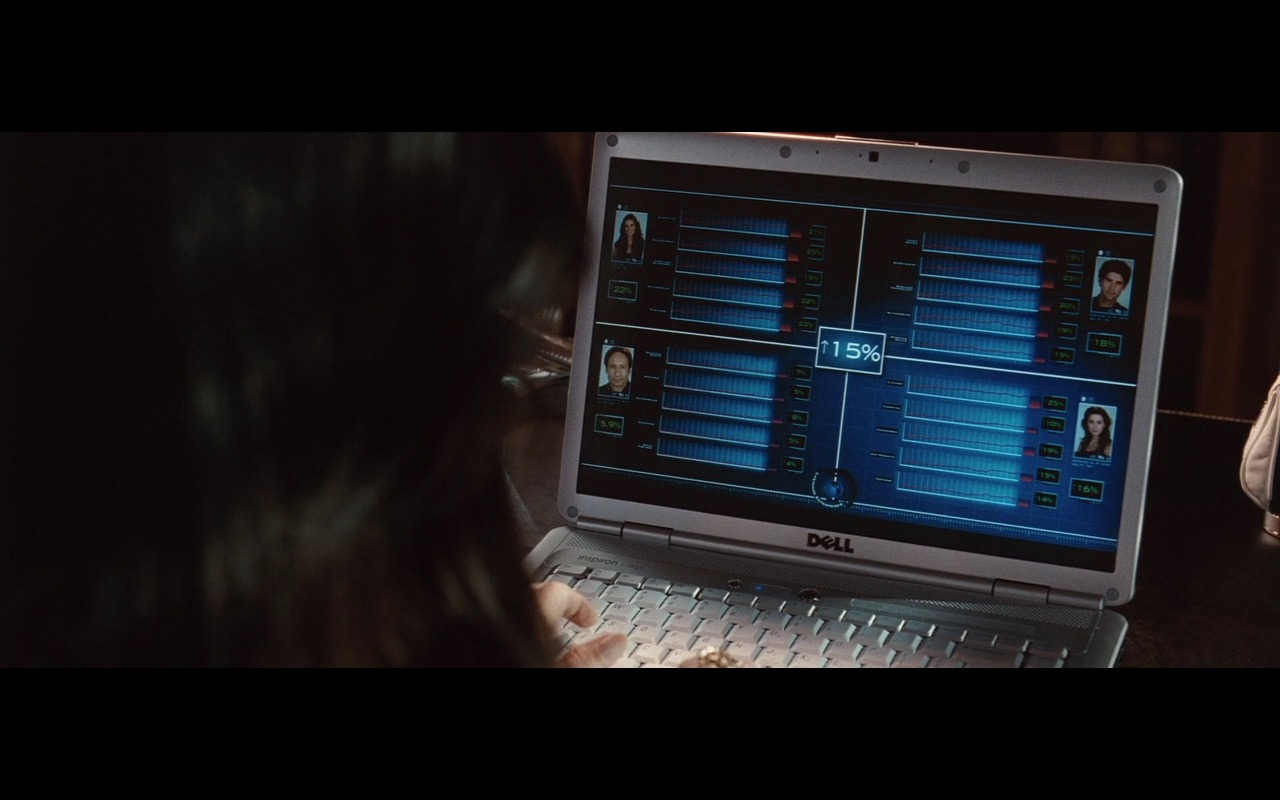 Dell Notebook – The Joneses (2009) Movie Product Placement
