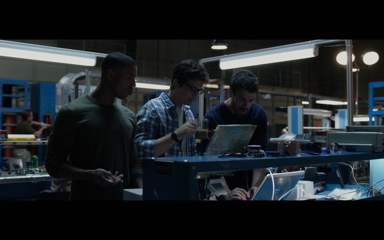 Dell Notebooks – Fantastic Four (2015) Movie Product Placement