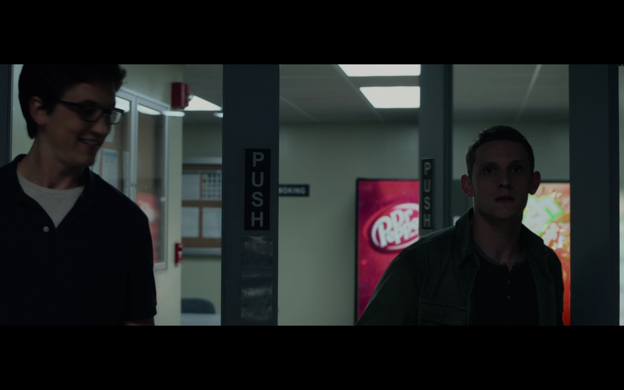 Dr Pepper Vending Machine – Fantastic Four (2015) Movie Product Placement