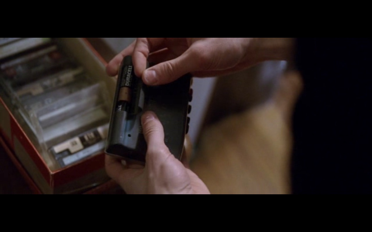 Duracell Batteries - The End of the Tour (2015) Movie Product Placement