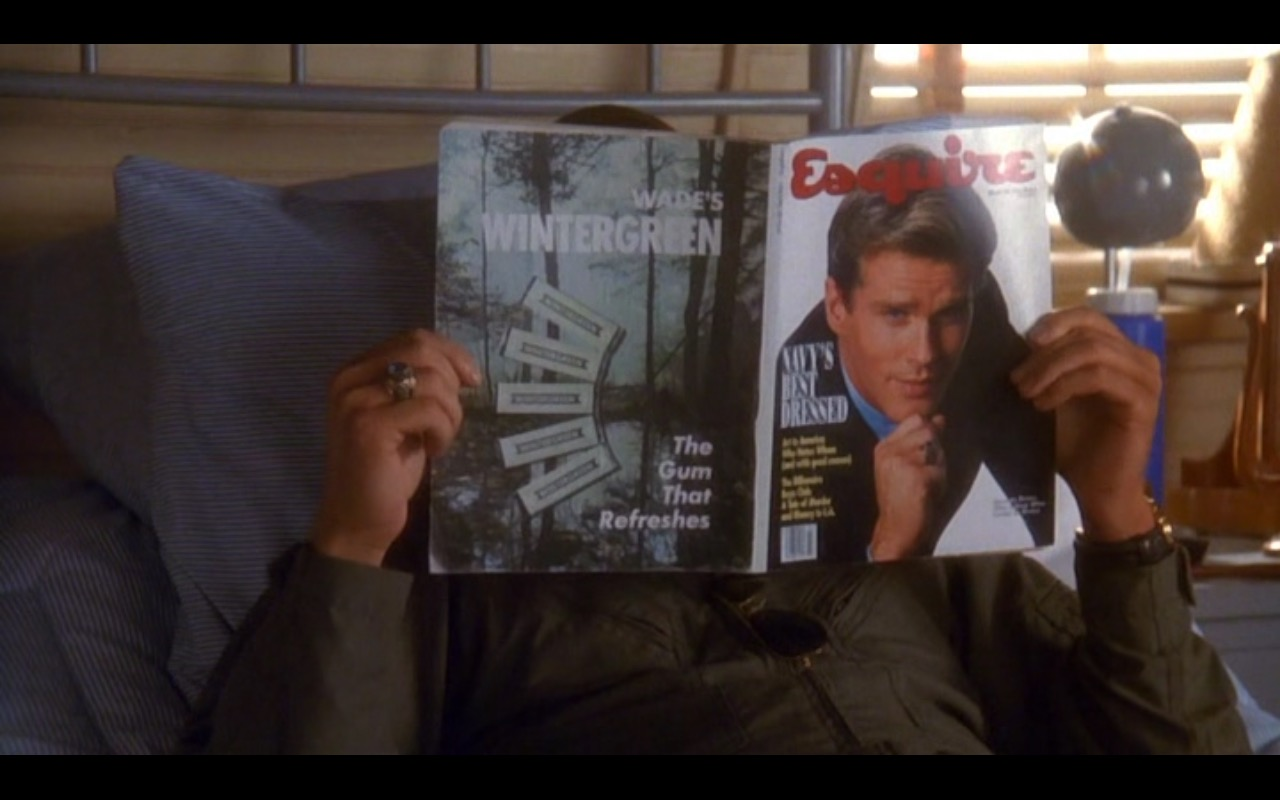 Esquire Magazine – Hot Shots! (1991) Movie Product Placement