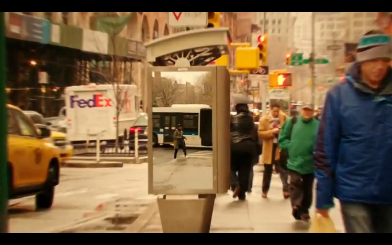 FedEx - Limitless TV Show Product Placement