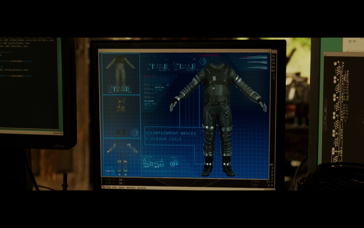 HP Monitors – Fantastic Four (2015) - Movie Product Placement