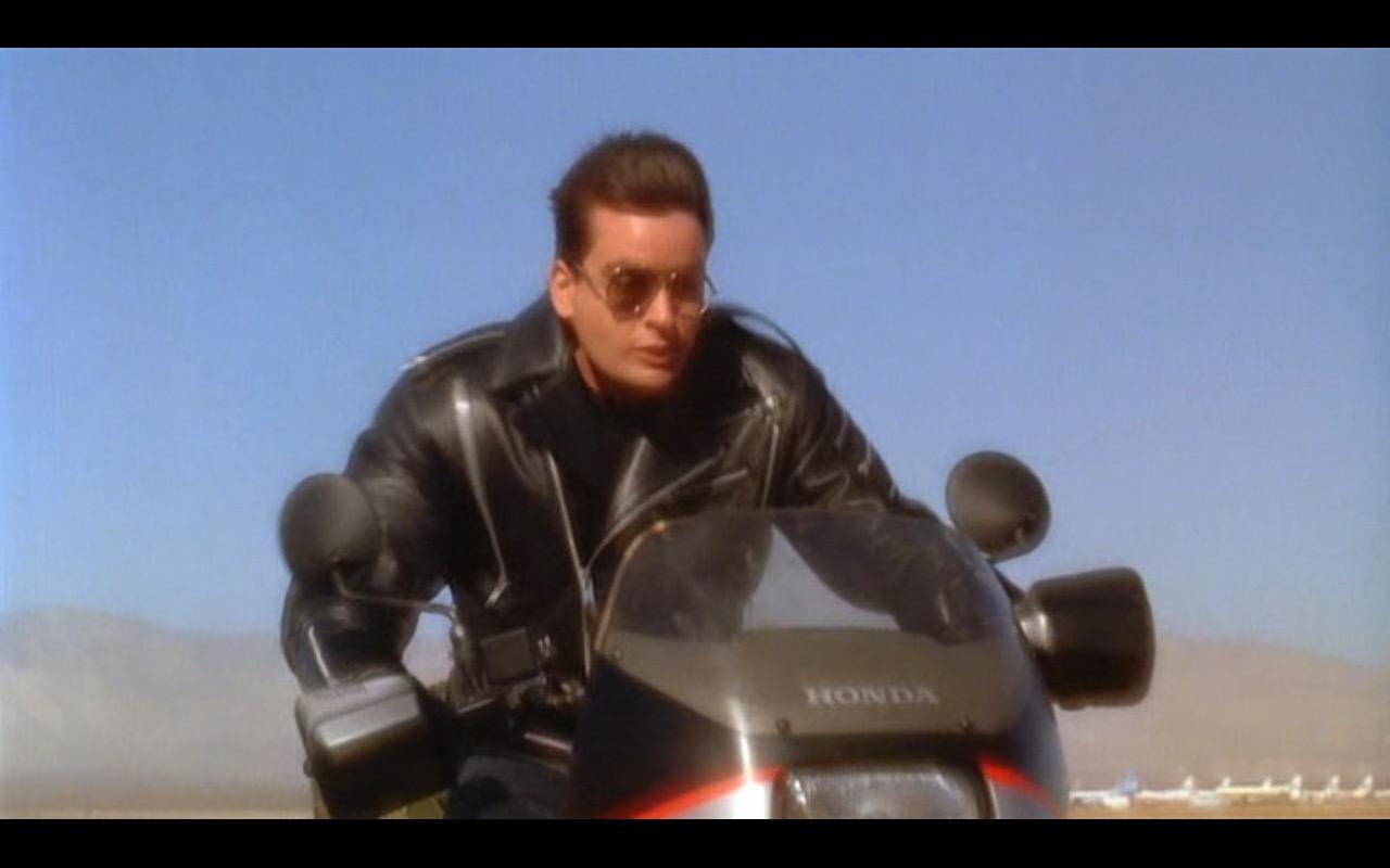 Honda Motorcycle – Hot Shots! (1991) Movie