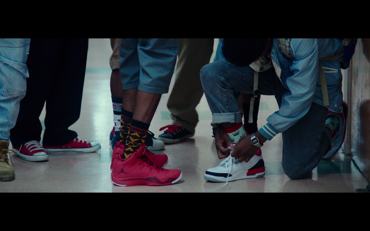 Air Jordan (Nike) Sneakers - Dope (2015) Movie Product Placement