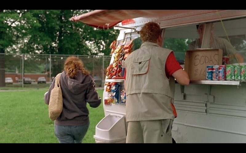 Lay's and Pepsi, Diet Pepsi and Mountain Dew – Super Troopers 2001