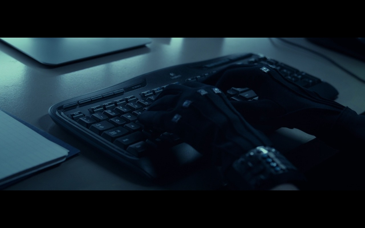 Logitech Keyboard – Fantastic Four (2015) Movie Product Placement