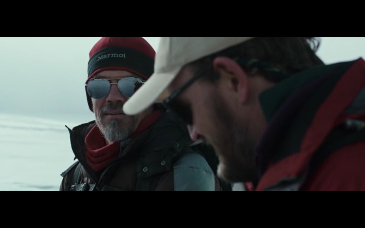 Marmot Red Beanie For Men – Everest (2015) Movie Product Placement