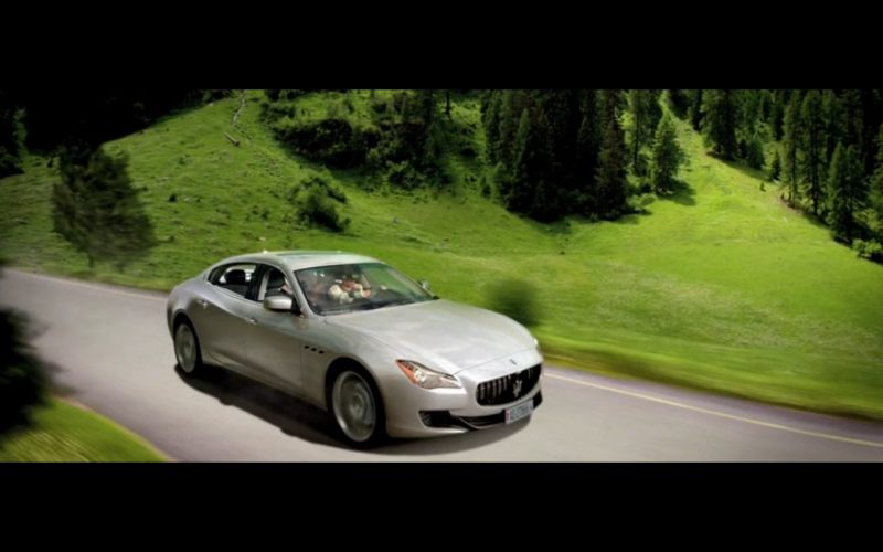 Maserati Quattroporte - Youth (2015) Movie Product Placement