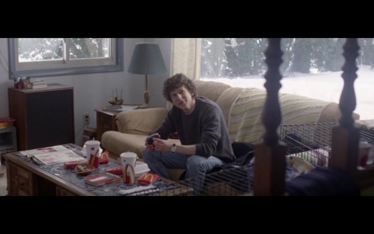 McDonald's – The End of the Tour (2015) Movie Product Placement