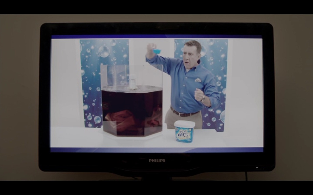 OxiClean and Philips TV  – Adult Beginners (2015) Movie Product Placement
