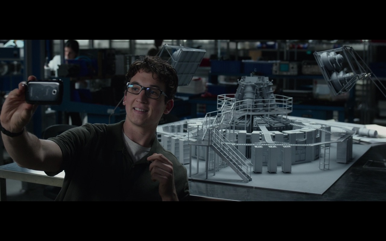 Samsung Smartphones – Fantastic Four (2015) Movie Product Placement
