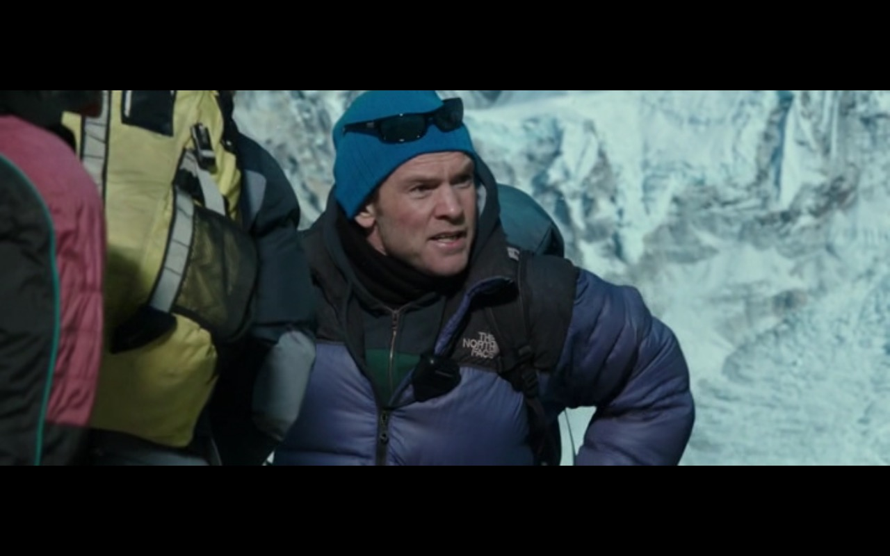 The North Face Men's Blue Jacket - Everest (2015) Movie Product Placement