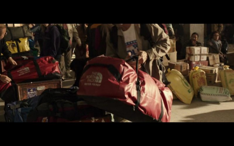 The North Face Red Bag – Everest (2015) Movie Product Placement