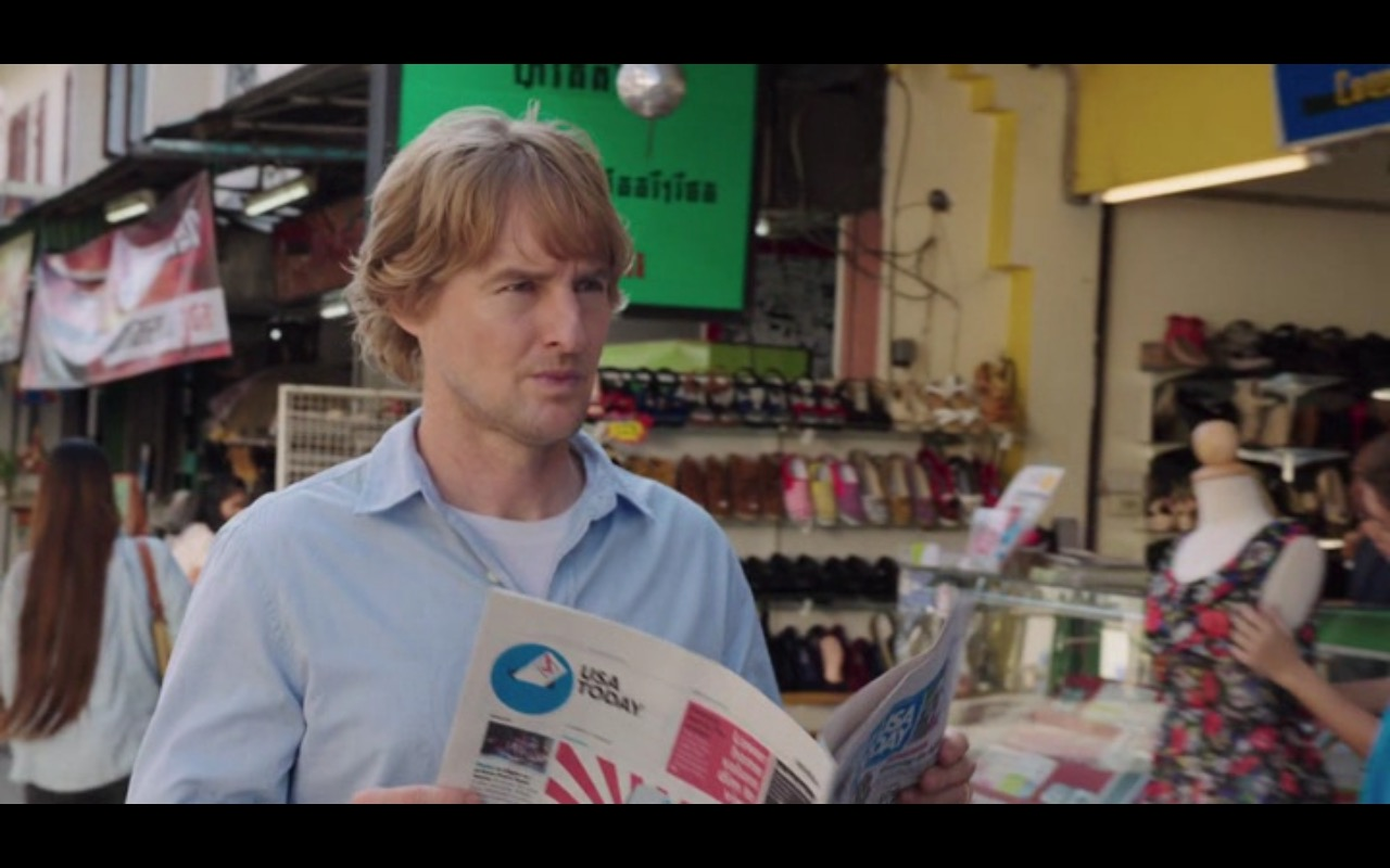 USA Today - No Escape (2015) Movie Product Placement