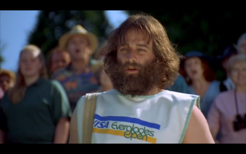 VISA Product Placement in Happy Gilmore Movie (1)