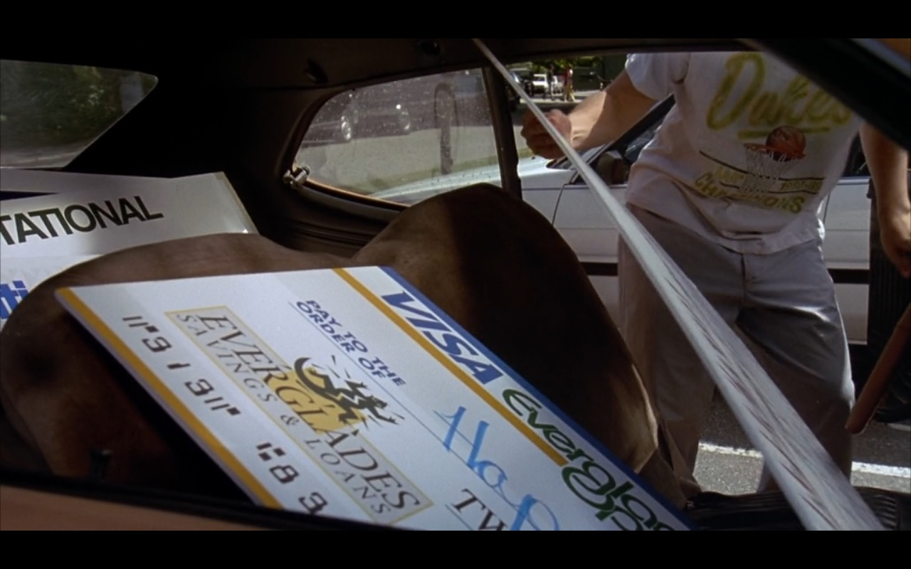 Visa Product Placement In Happy Gilmore Movie
