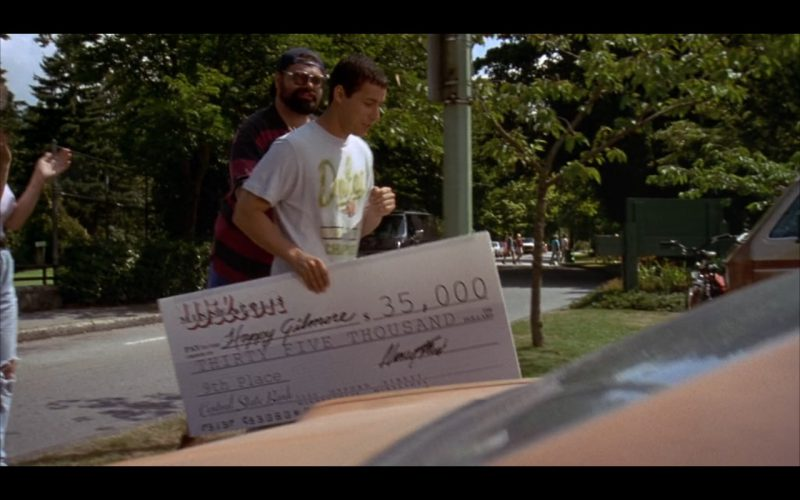Wilson Product Placement in Happy Gilmore Movie