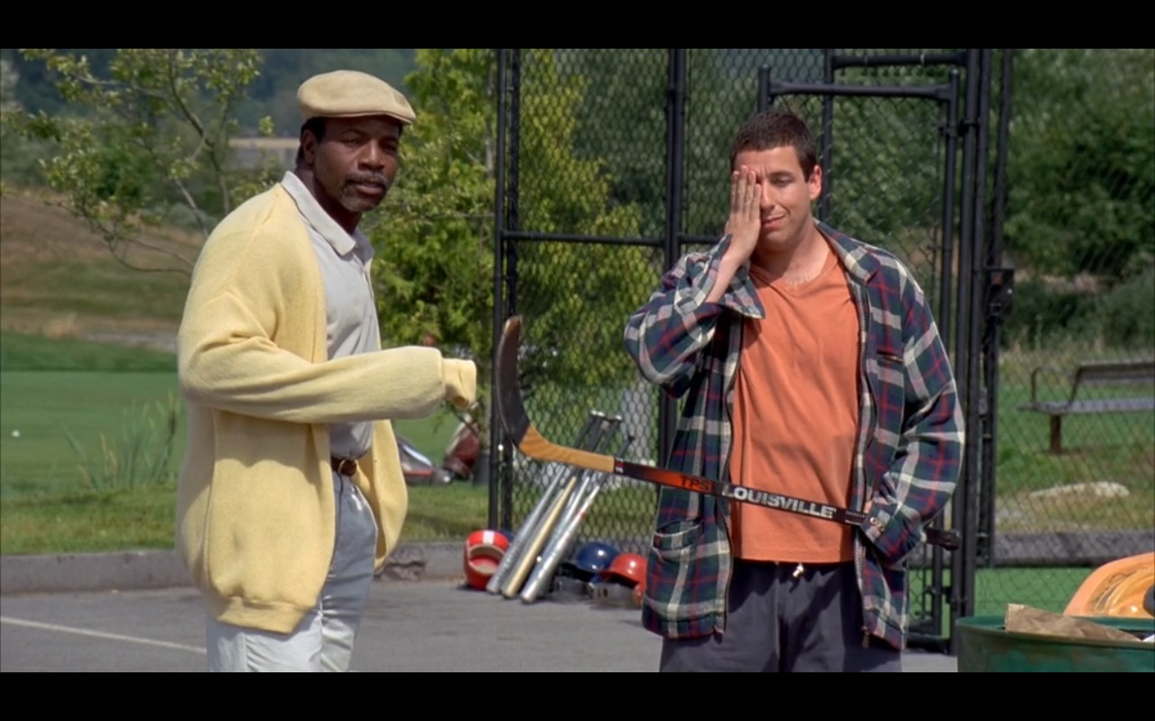 Yellow Lacoste Sweater For Men – Happy Gilmore (1996) - Movie Product Placement