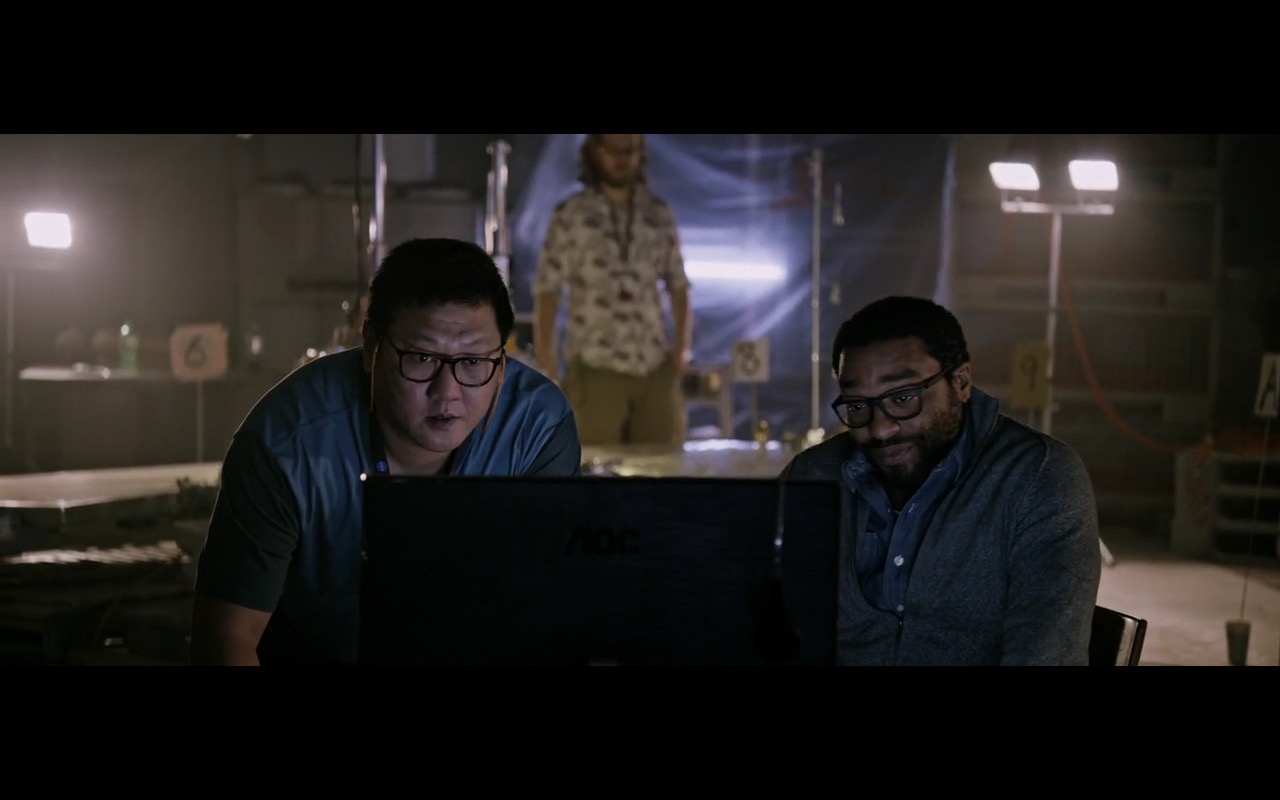 AOC Monitors - The Martian (2015) Movie Product Placement
