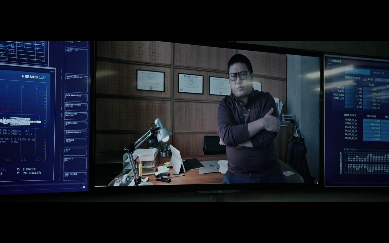 AOC TV – The Martian (2015) Movie Product Placement