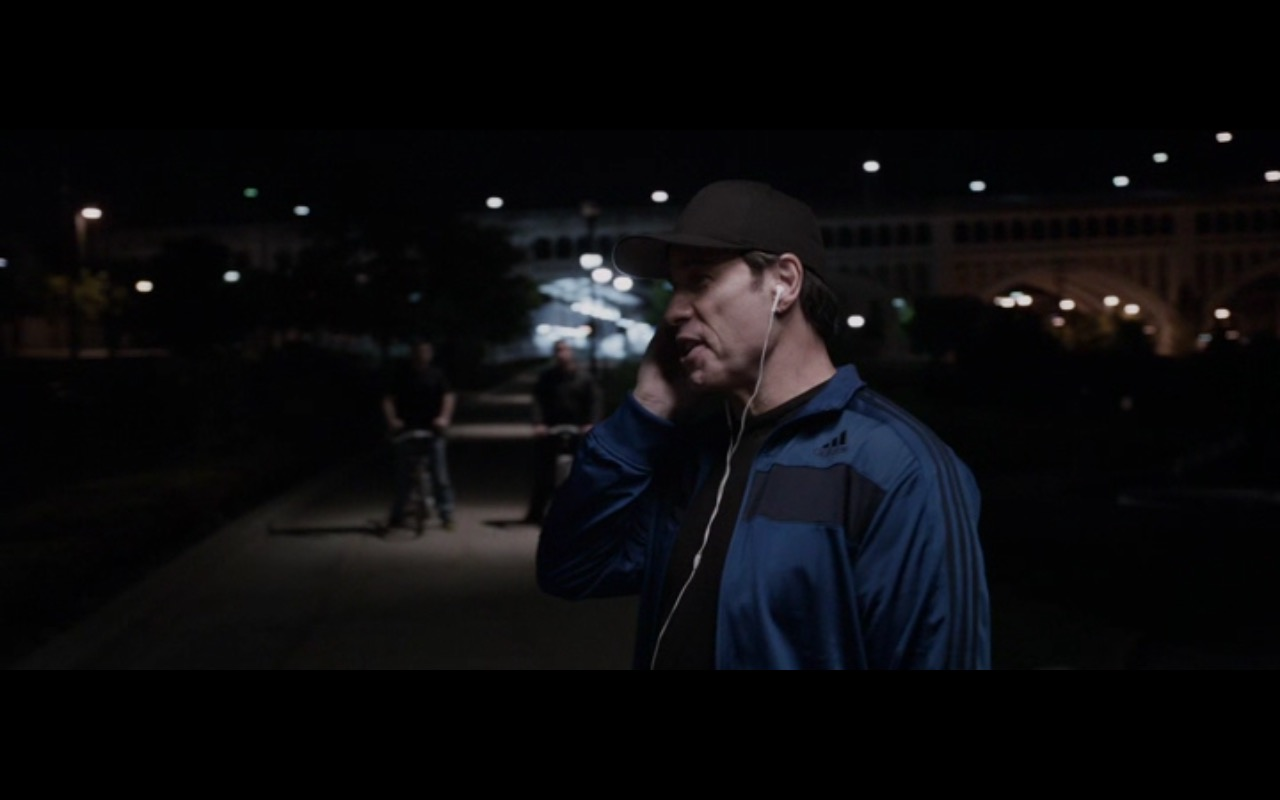 Adidas Blue Jacket For Men – Criminal Activities (2015) Movie Product Placement