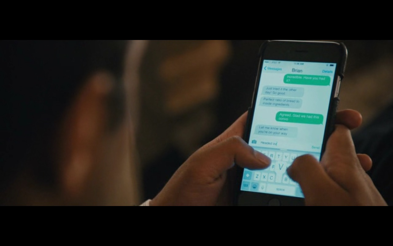 AT&T and Apple iPhone 6 - Master of None TV Show Product Placement
