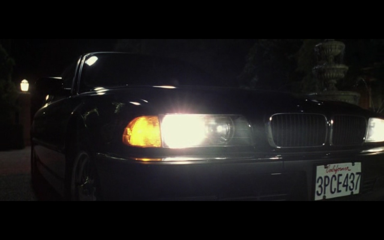 BMW 7 Series - The Game (1997) Movie Product Placement