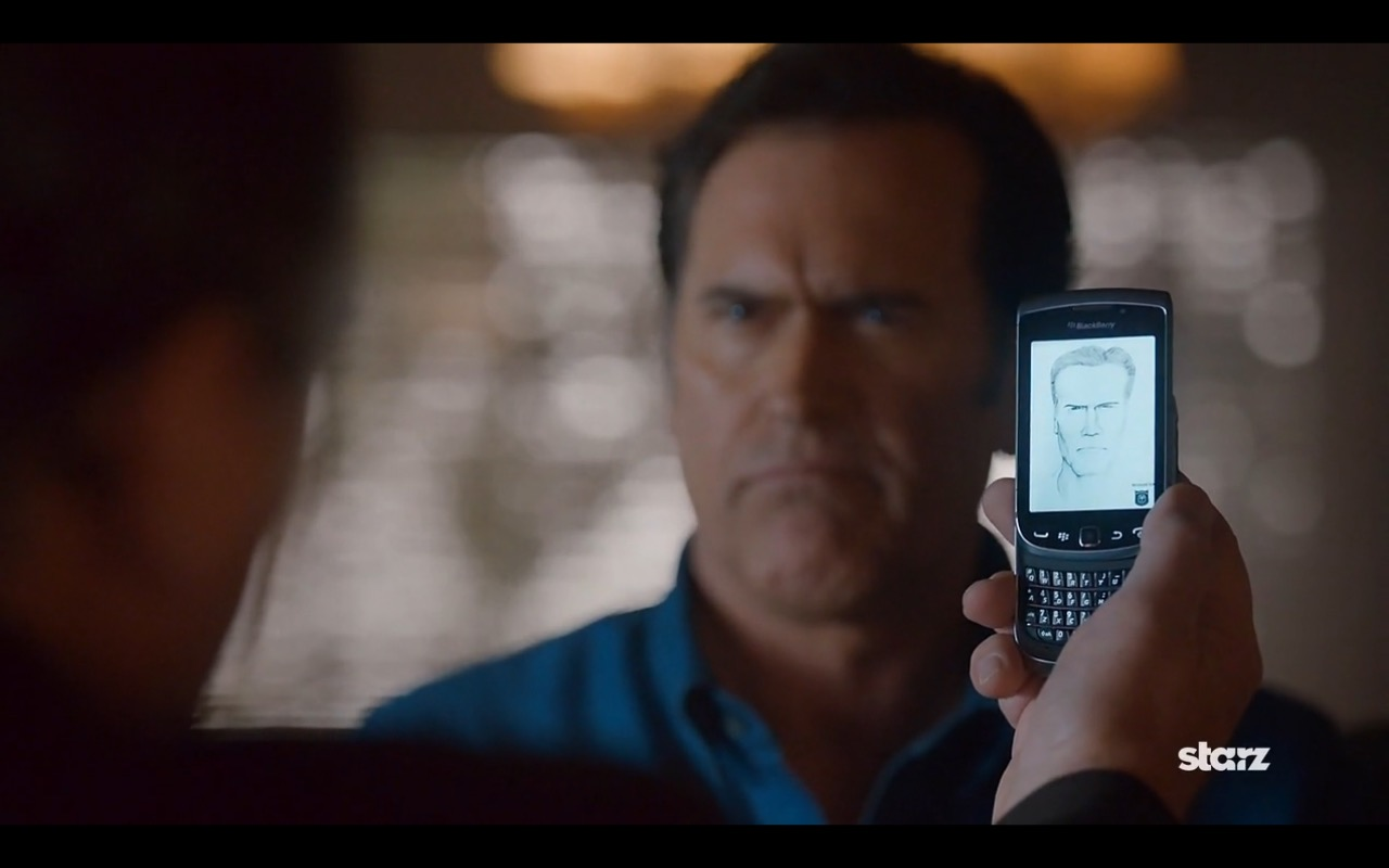 Blackberry - Ash vs Evil Dead TV Show Product Placement