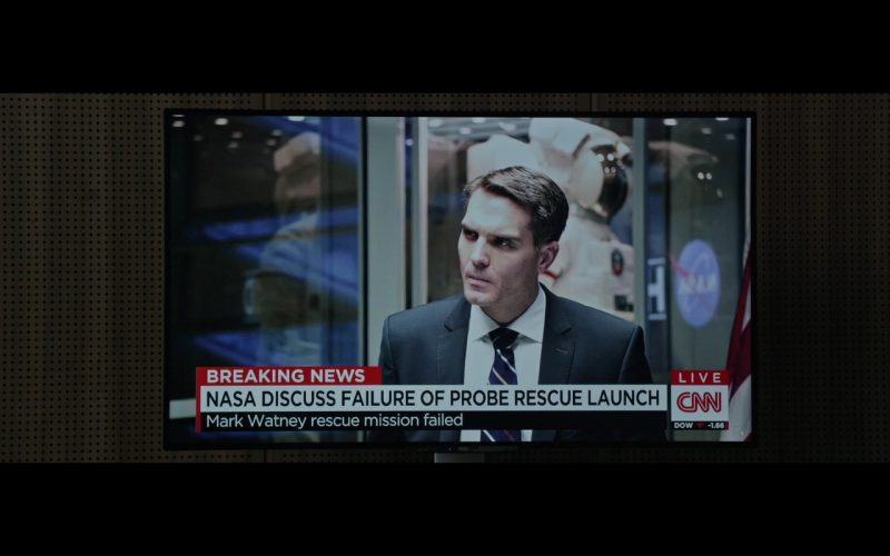 CNN and AOC TV – The Martian (2015) Movie Product Placement