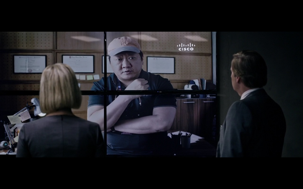 Cisco – The Martian (2015) Movie Product Placement