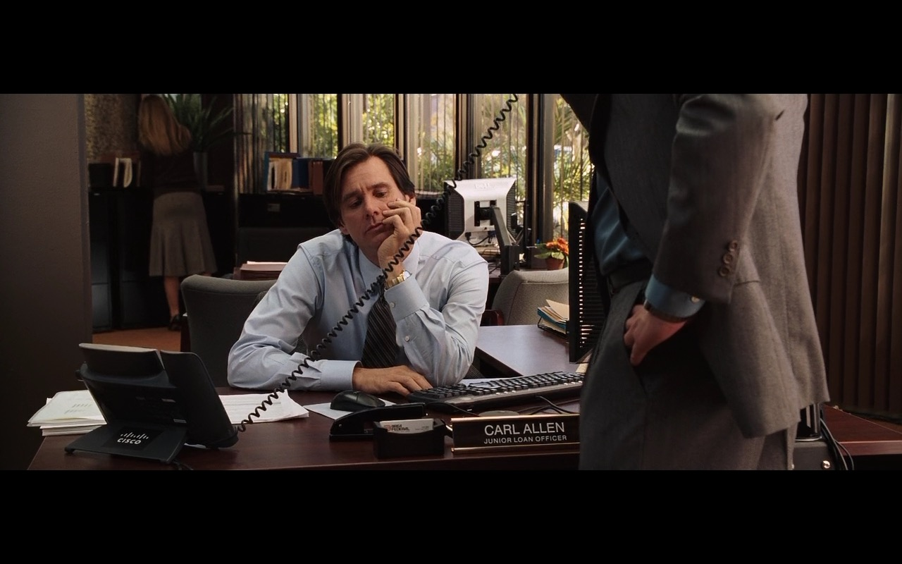Cisco Phone – Yes Man (2008) Movie Product Placement