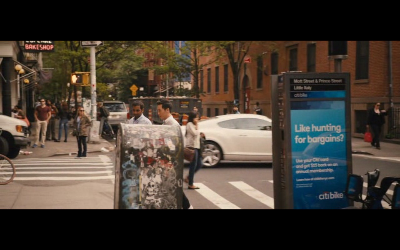 Citi Bike – Master of None TV Show Product Placement