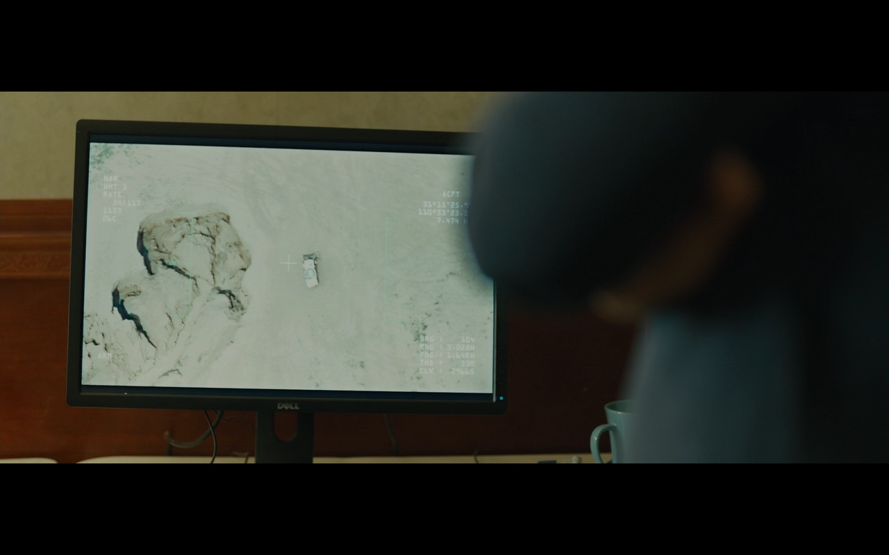 DELL Monitors – Sicario (2015) Movie Product Placement