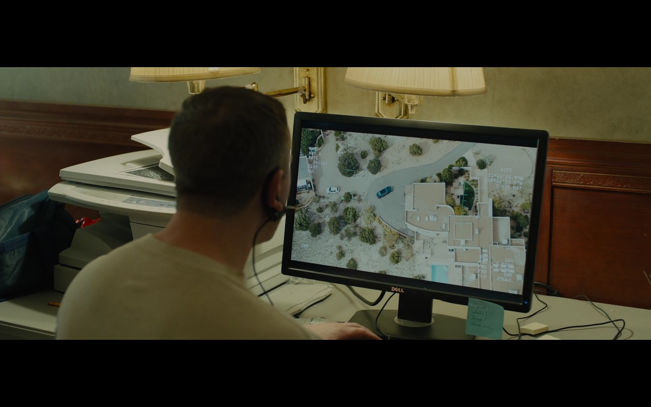 DELL Monitors – Sicario (2015) - Movie Product Placement