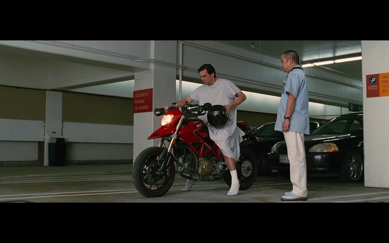 Ducati Bike – Yes Man (2008) Movie Product Placement