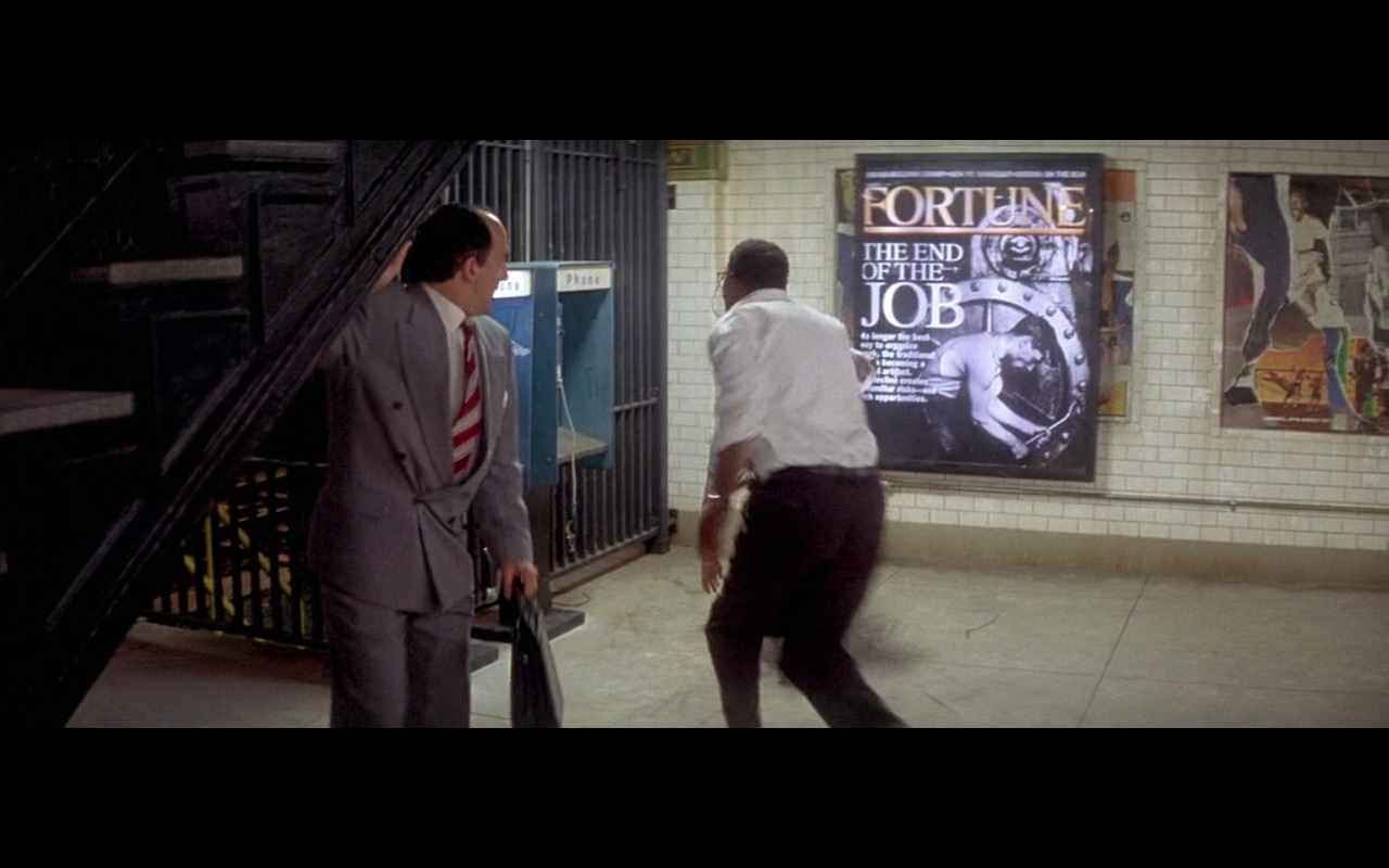 Fortune (Magazine Advertising) - Die Hard: With a Vengeance (1995) Movie Product Placement