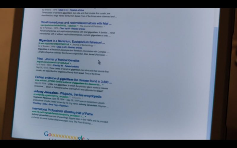 Google – Don Verdean (2015) Movie Product Placement