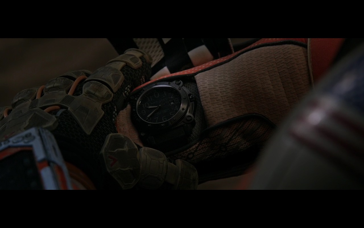 Hamilton Watches - The Martian (2015) Movie Product Placement