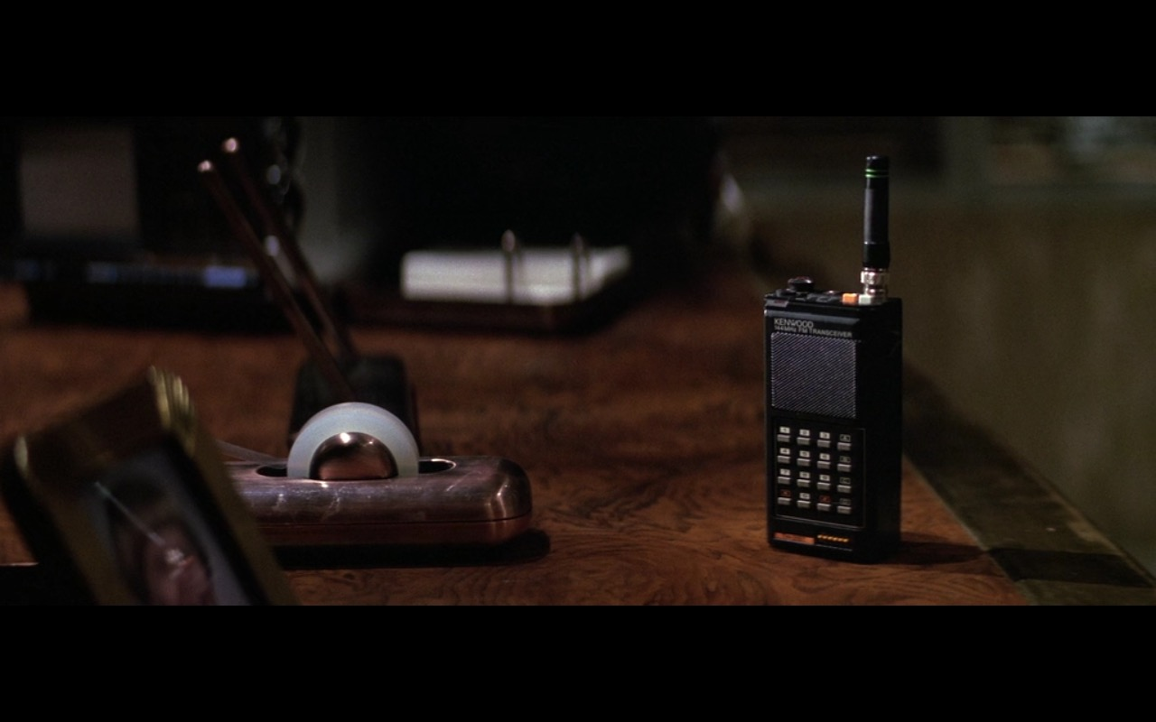 Kenwood Handheld Ham Radio Transceiver – Die Hard (1988) Movie Product Placement