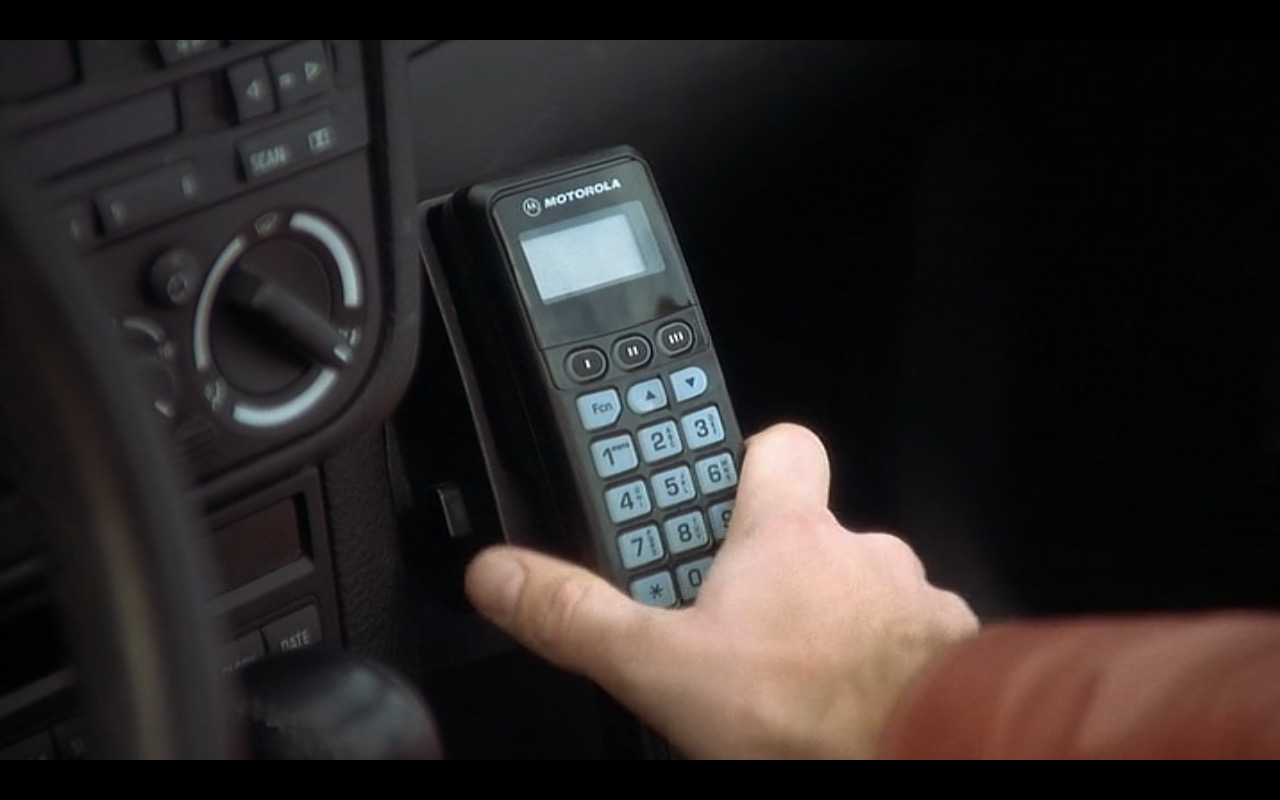 Motorola Car Phone – Interstate 60: Episodes of the Road (2002) Movie Product Placement