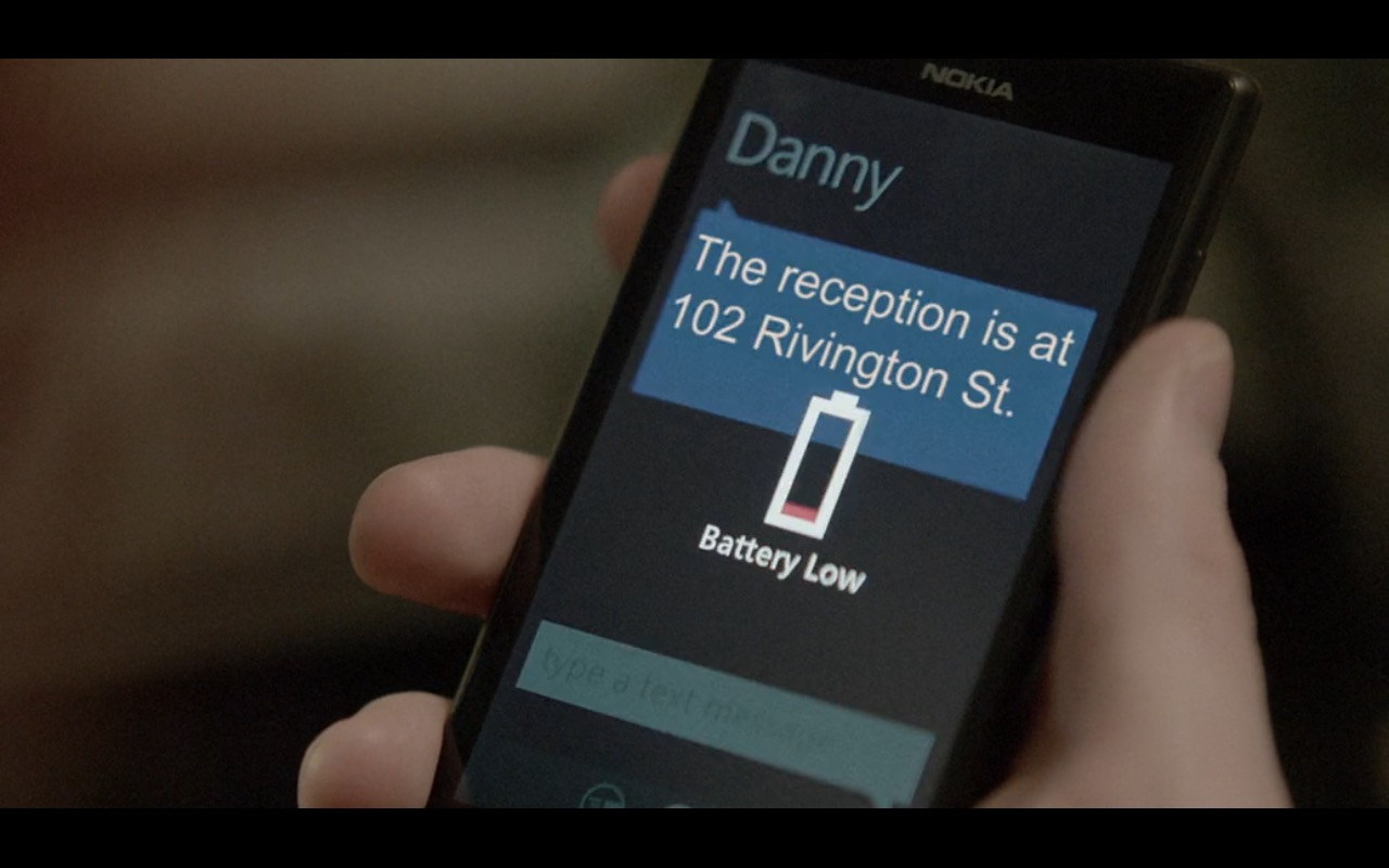 Nokia Lumia - Before We Go (2014) Movie Product Placement