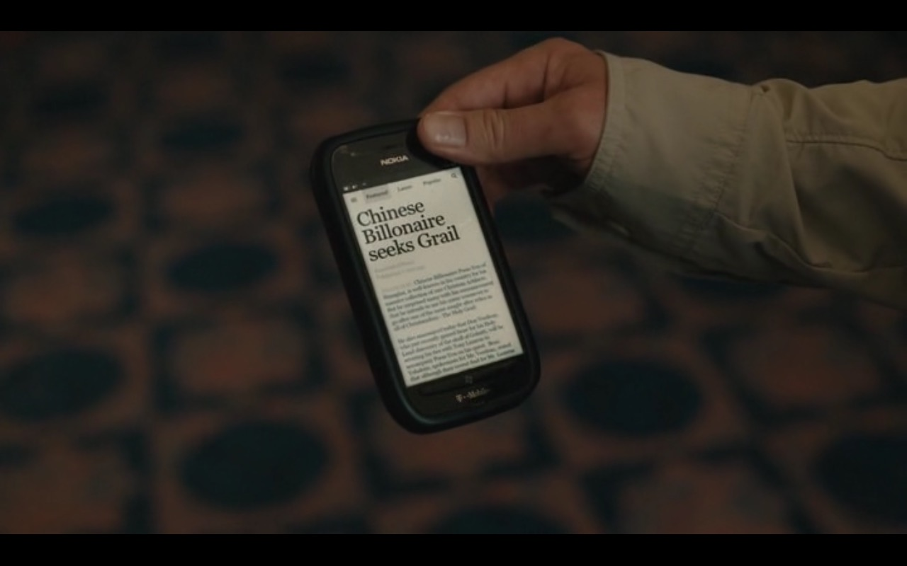 Nokia and T-Mobile – Don Verdean (2015) Movie Product Placement